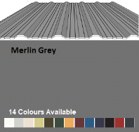 R32/1000 Profiled Metal Sheeting Cover Width 1000mm £13.20/mtr